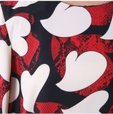 Moschino Hearts Printed Blouse
