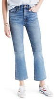 Madewell Women's Retro Crop Bootcut Jeans: Two-Tone Edition