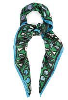 Valentino Panama silk scarf