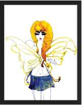 Zoe Bios Creative Blonde Butterfly by Caitlin Dinkins (Framed Giclee)