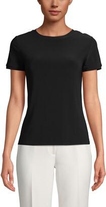 Anne Klein Button Back T-Shirt