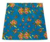 Gucci Little Girl's & Girl's Floral Bouquet-Print Corduroy Skirt