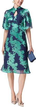 Beulah Silk-Blend Dress
