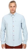 Ben Sherman Long Sleeve Chambray Woven Shirt