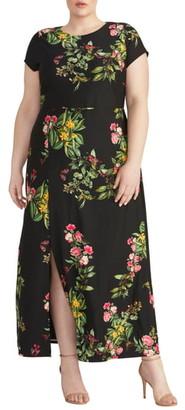 Rachel Roy Floral Jersey Maxi Dress