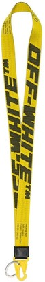Off-White 2.0 Industrial Lanyard Necklace Yellow/black