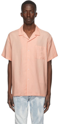Double Rainbouu Pink Free Entry Short Sleeve Shirt