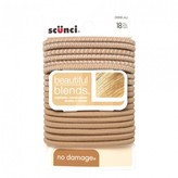 Scunci No Damage Hair Elastics Blonde 18 pack