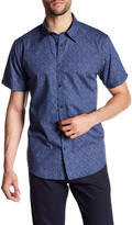 Ben Sherman Short Sleeve Button Down Trim Fit Shirt