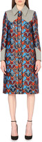 Mary Katrantzou Star jacquard coat