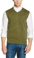 Tommy Hilfiger Men's Pima Ctn Cashmere Vest CF Kniited Tank Top,L