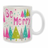 """DENY Designs Heather Dutton """"Be Merry"""" Mugs (Set of 2)"""
