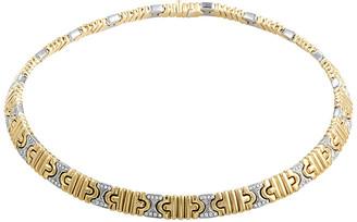 Bulgari Heritage  18K Two-Tone Necklace