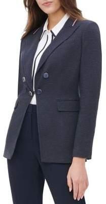 Tommy Hilfiger Stretch Knit Sailor Jacket