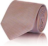 Brioni Men's Dotted Silk Jacquard Necktie