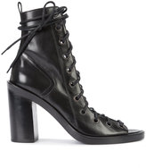 Ann Demeulemeester lace-up sandals - women - Leather - 36