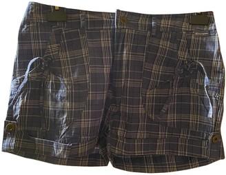 Champion Blue Cotton Shorts