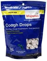 Walgreens Cough Drops Eucalyptus