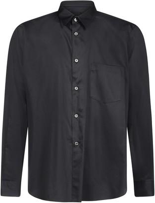 Comme des Garçons Homme Plus Side Slit Button-Up Shirt