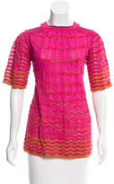 M Missoni Cutout Knit Tunic