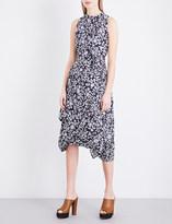 Anglomania Bandana Flower Eight cotton-poplin midi dress