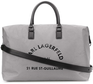 Karl Lagerfeld Paris Rue St Guillaume weekend bag