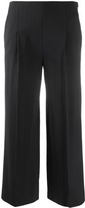 Chalayan Cropped Wide Leg Trousers