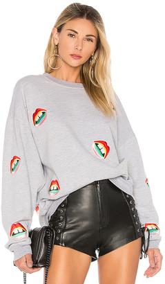Lauren Moshi Babbs Oversized Boyfriend Pullover