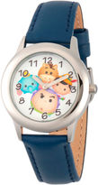 Disney Tsum Tsum Boys Blue Strap Watch-Wds000123