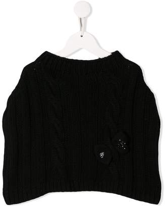 Miss Blumarine chunky knit jumper