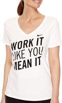 Nike Short-Sleeve V-Neck T-Shirt