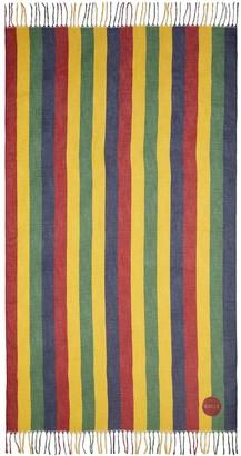 Gucci Baiadera stripe print stole