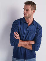 Lucky Brand Long Sleeve Polo