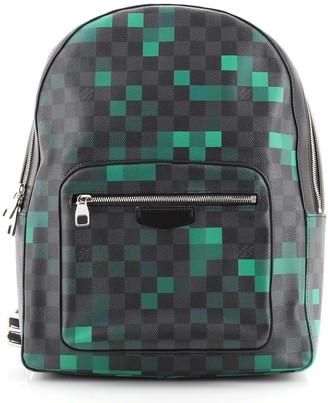 Louis Vuitton Josh Backpack Limited Edition Damier Graphite Pixel