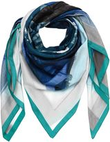 Faliero Sarti Cotton & Silk Printed Scarf