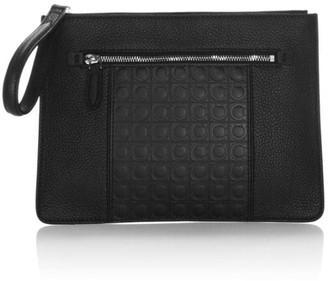 Salvatore Ferragamo Medium Leather Portfolio Bag