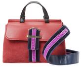 Cynthia Rowley Hudson Mini Faux Leather & Suede Satchel