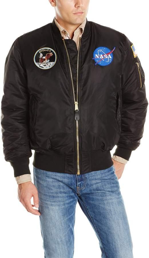 Alpha Industries Men's NASA Apollo MA-1 Bomber Jacket