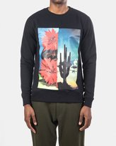 Soulland Lazare Crew Neck Sweatshirt (Black)