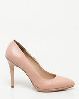 Le Château Leather Platform Pointy Toe Pump