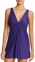 Miraclesuit Must Have Marais Twist Swim Dress