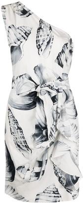Twin-Set Twin Set shell print dress