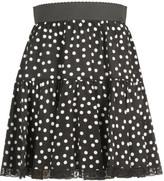 Dolce & Gabbana Polka Dot Mini Skirt