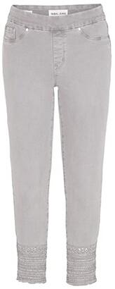 Tribal Audrey Pull-On Ankle Jeggings in Light Grey (Light Grey) Women's Jeans