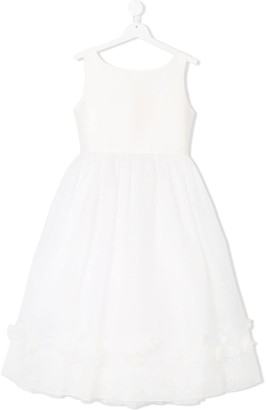La Stupenderia Dotted Layered Full Dress