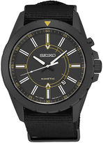 Seiko Recraft Mens Black Bracelet Watch SKA705