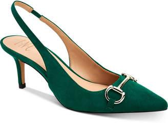 INC International Concepts Inc Carynn Pointed-Toe Kitten Heels, Women Shoes