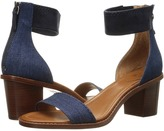 Frye Brielle Back Zip Sandal High Heels