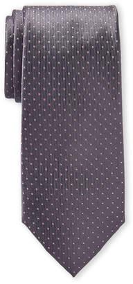 Michael Kors Grey Arron Dot Silk Tie