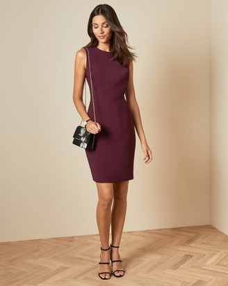 Ted Baker Stitch Detail Fitted Dress